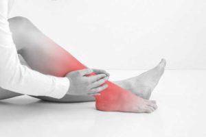 足関節捻挫の症状や治療法について